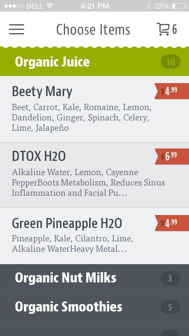 DTOX Juice screenshot 3