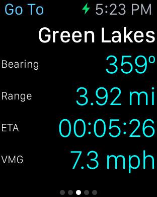 MotionX GPS screenshot 10