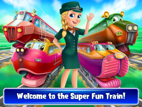 Super Fun Trains - All Aboard screenshot 6