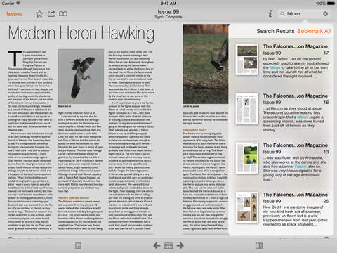 The Falconers & Raptor Conservation Magazine screenshot 9