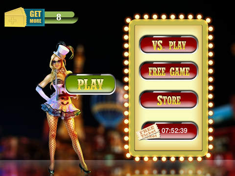 Las Vegas Bingo Mania Pro - win casino gambling tickets screenshot 4