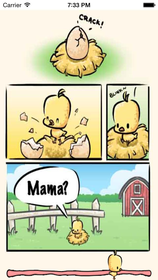 Baby Chick Maze - Free Game! screenshot 1