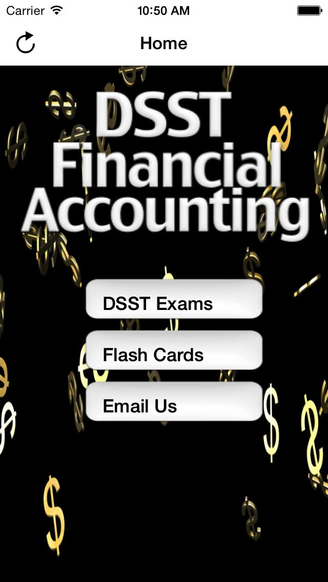 DSST Financial Accounting screenshot 1