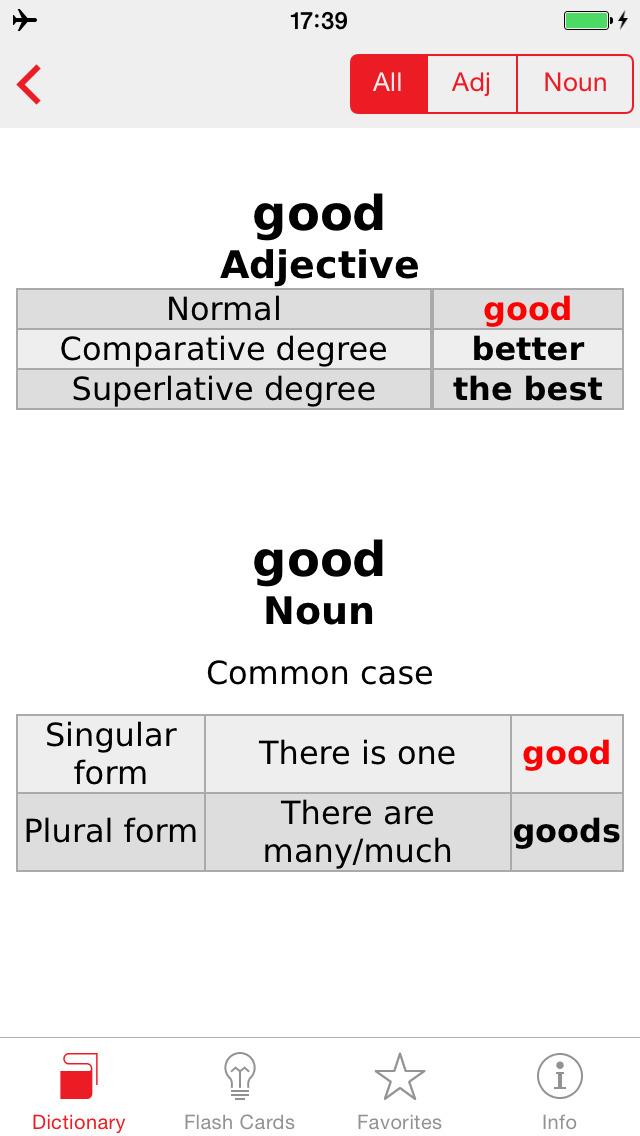 Italian - English Berlitz Basic Talking Dictionary screenshot 5