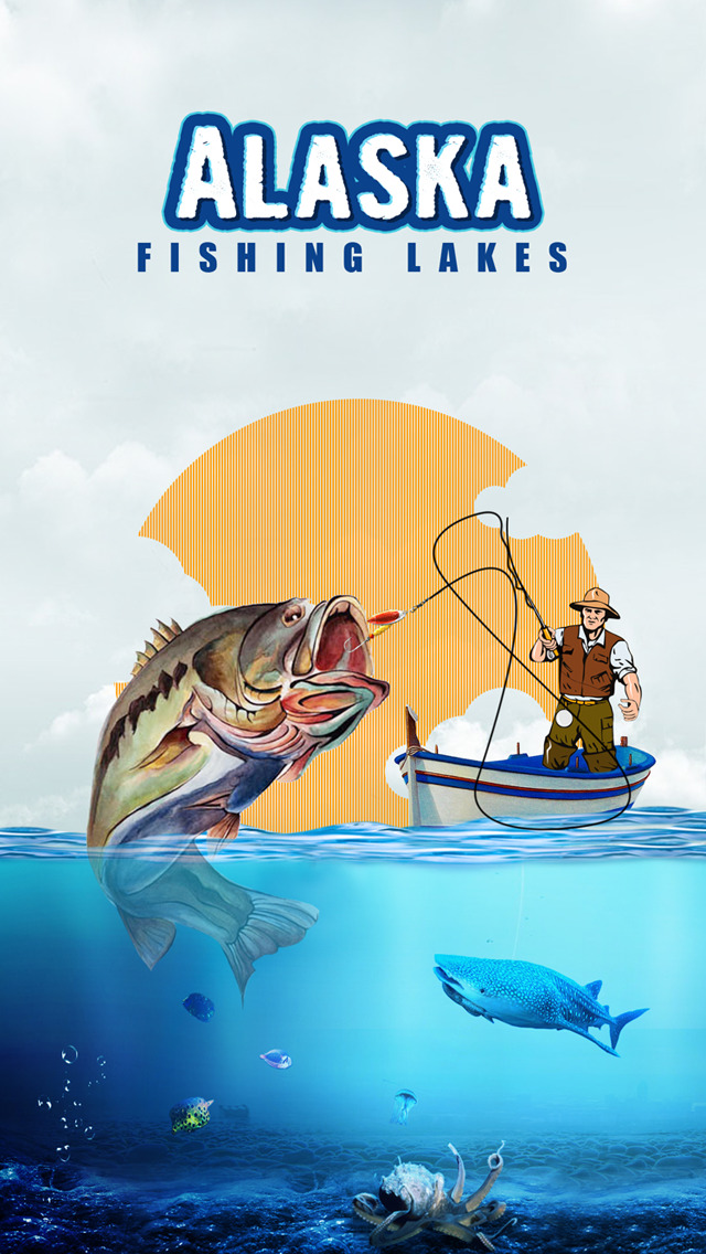 Alaska Fishing Lakes screenshot 1