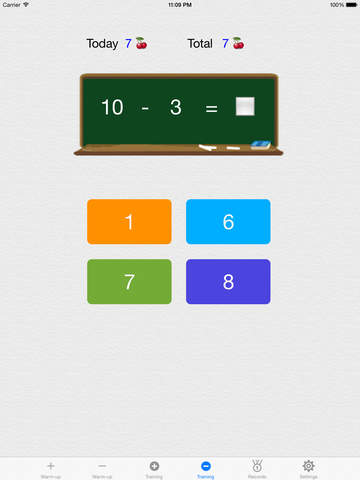 Make 10,100,1000 - Free(Complementary Number Training) screenshot 9