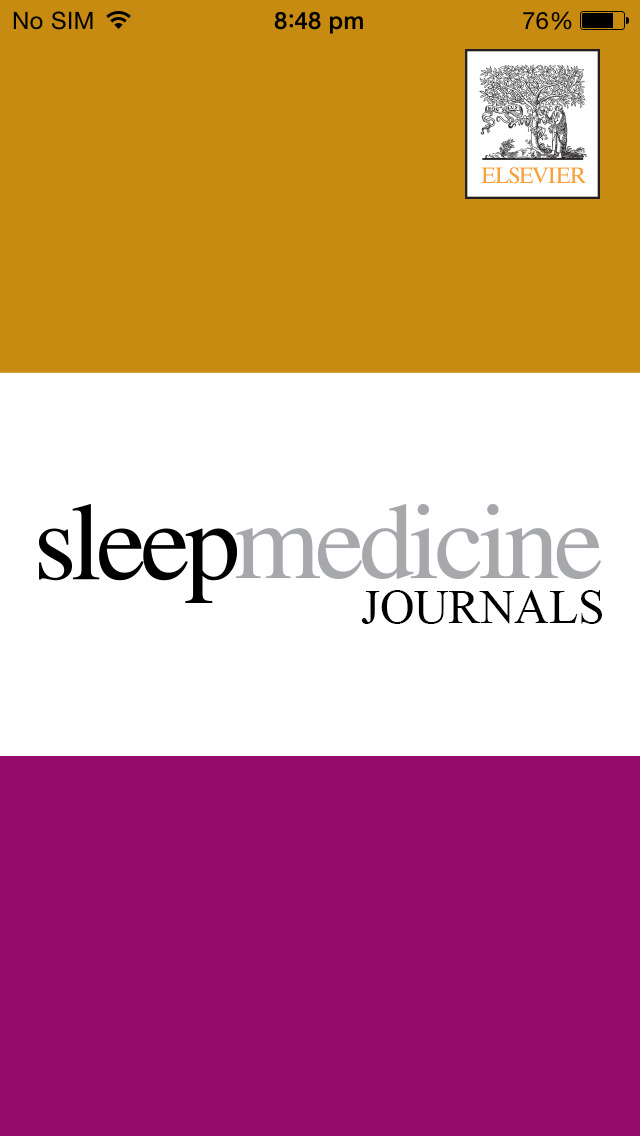 Sleep Medicine Journals screenshot 1