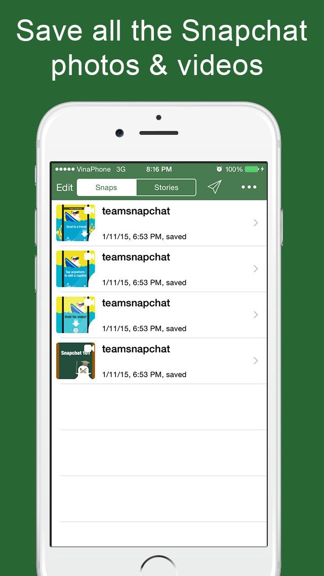 saving videos on snapchat