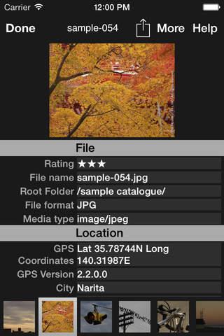 MetaCat - Metadata Viewer - náhled