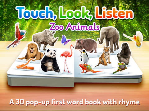 Zoo Animals ~ Touch, Look, Listen screenshot 6