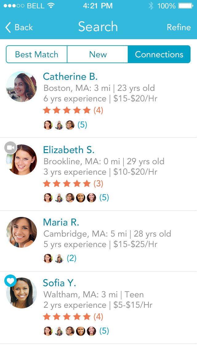 Care.com: Hire Babysitters screenshot 5