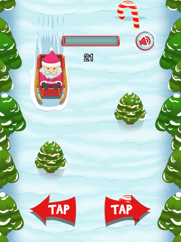 `A Santa's Sleigh Run Ride: Frozen Christmas screenshot 5