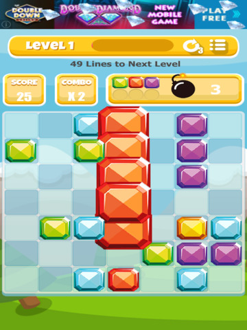A Gem Mine: Jewel Match Line Puzzle - FREE Edition screenshot 6