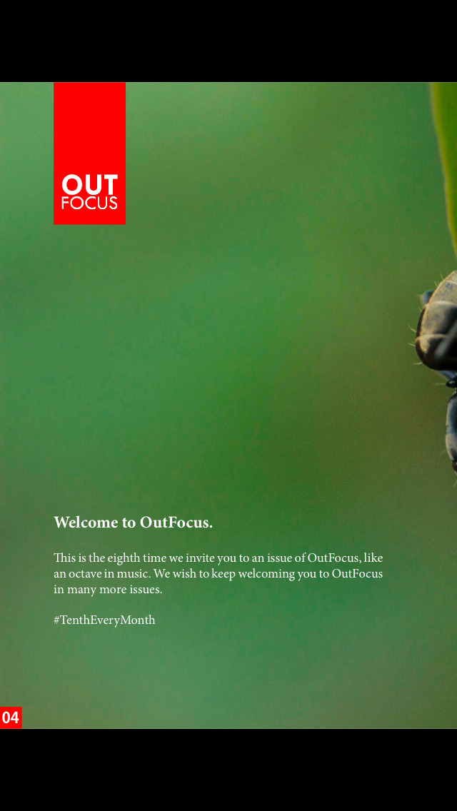 OutFocus Magazine screenshot 2