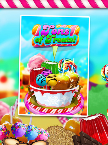 """ A Circus Food Stand Candy Creator HD – Free Maker Game screenshot 3"