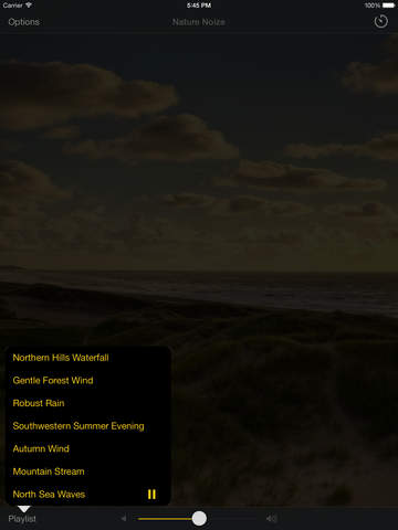 Relaxing Nature Sounds, White Noise for Sleep, Relaxation, Meditation - Nature Noize screenshot 10