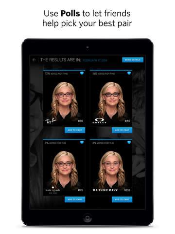 glasses.com for iPad screenshot 5