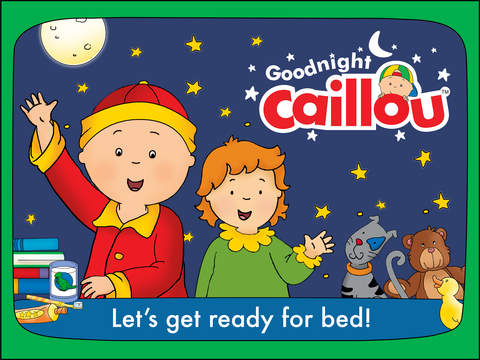 Goodnight Caillou screenshot 6