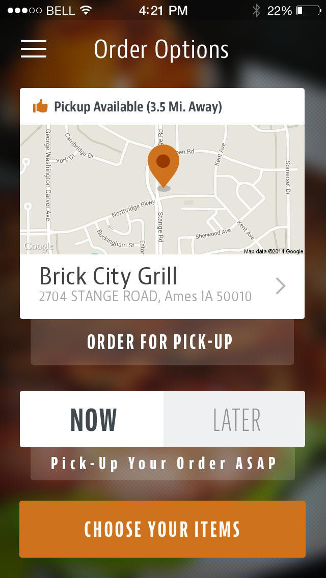 Brick City Grill screenshot 2