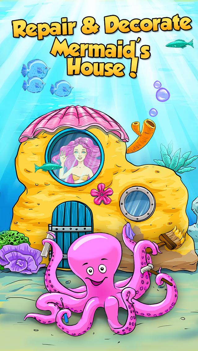 Mermaid Ava and Friends - Ocean Princess Hair Care, Make Up Salon, Dress Up and Underwater Adventures screenshot 3