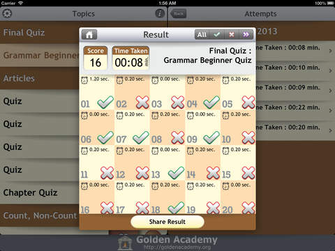 Grammar Expert : English Grammar Beginner FREE screenshot 9
