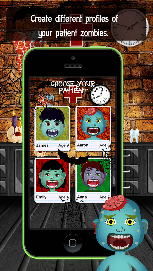 Zombie Monster Dentist screenshot 2