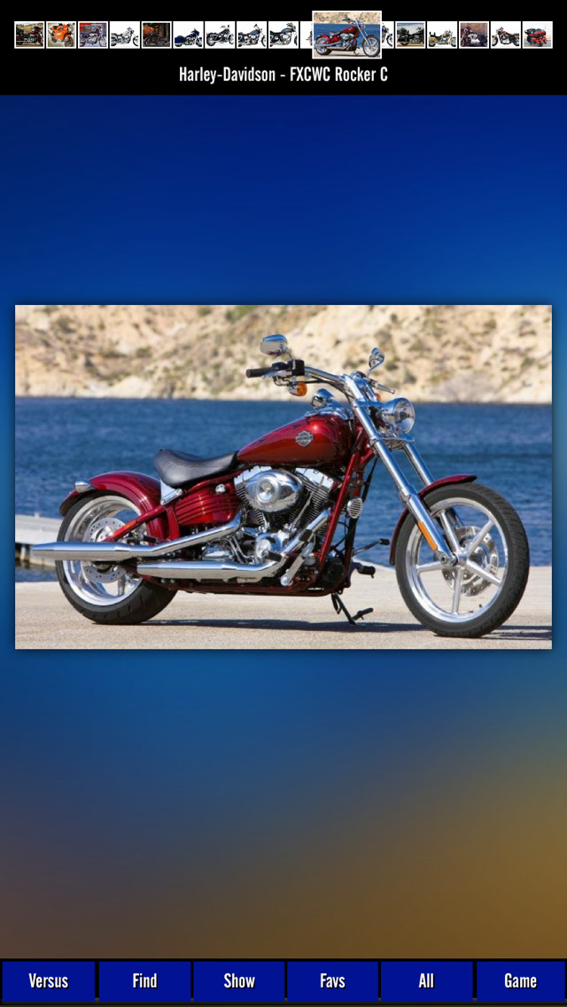 Motorcycles Harley Davidson screenshot 1