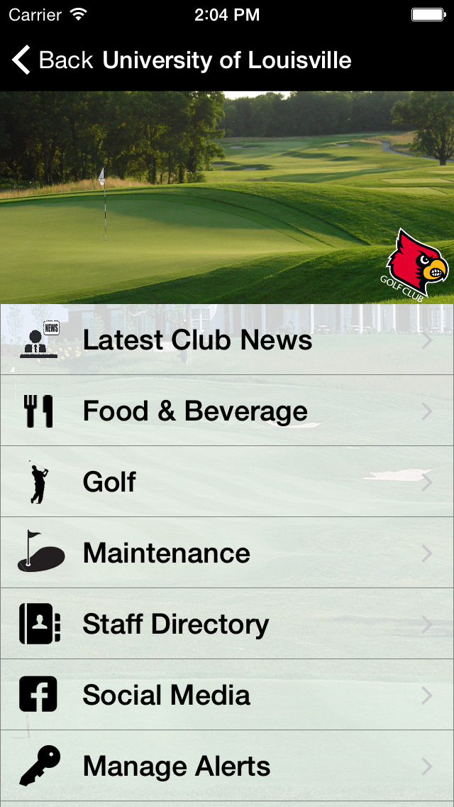 University of Louisville Golf Club screenshot 3