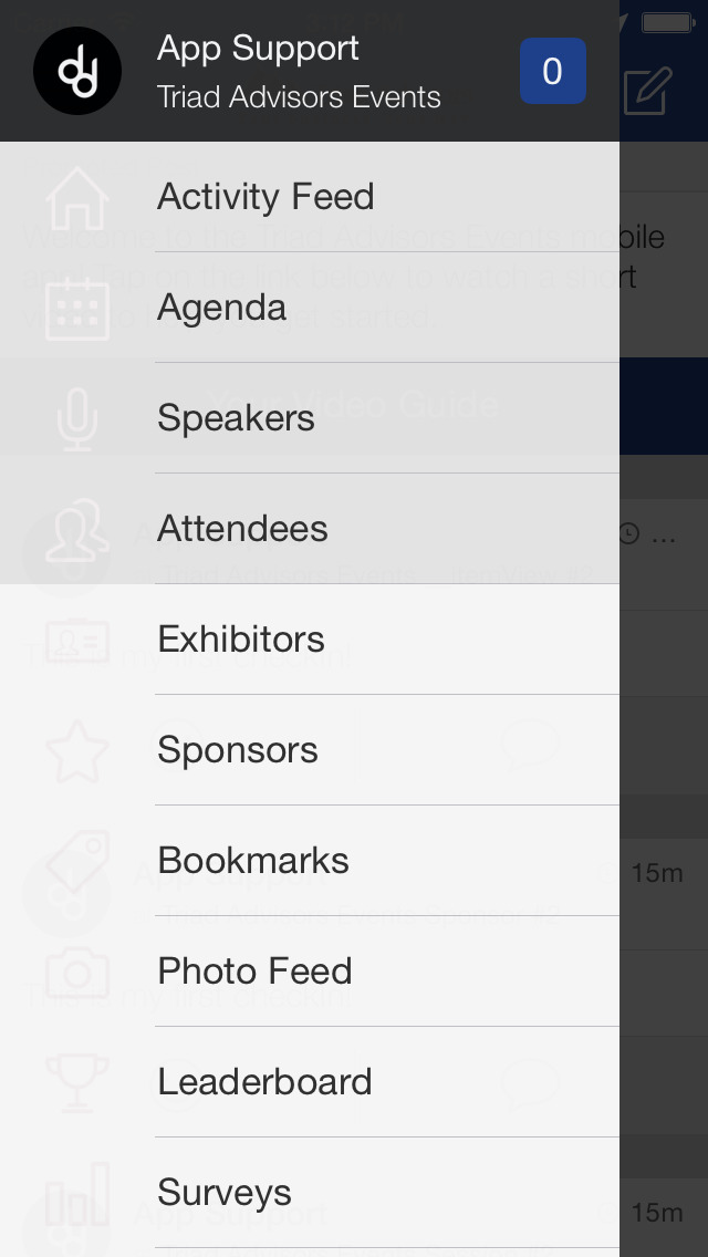 Triad Advisors Events screenshot 2