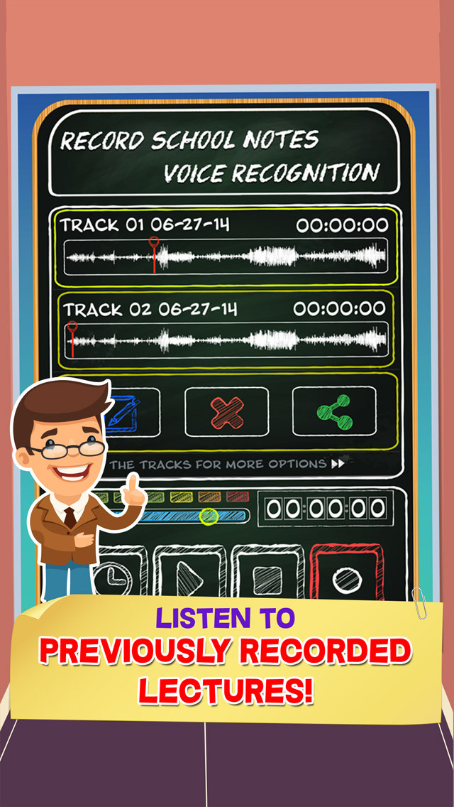 Record School Notes - Voice Recognition screenshot 2