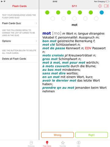 German - French Berlitz Mini Talking Dictionary screenshot 8
