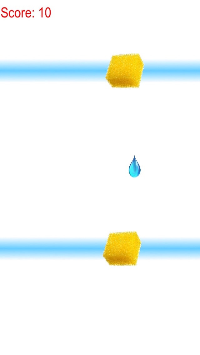 Catch The Waterdrop - Squeeze Water From A Sponge screenshot 2