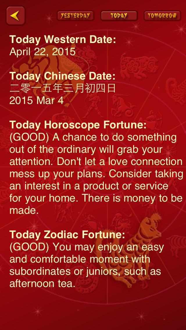 HoroZodiac - Free Daily Horoscope & Chinese Zodiac screenshot 2