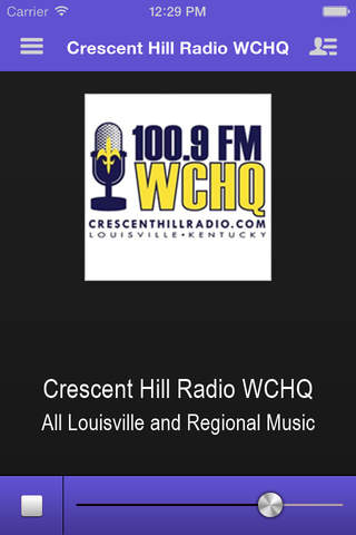 Crescent Hill Radio WCHQ - náhled