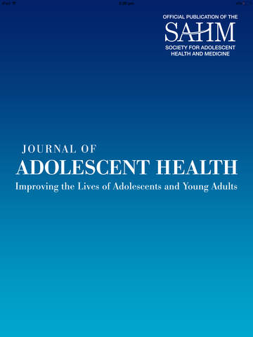 Journal of Adolescent Health screenshot 6