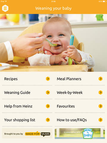 Baby weaning recipes, planners and guide - MadeForMums screenshot 6