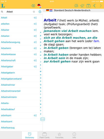 German - Dutch Dictionary screenshot 9