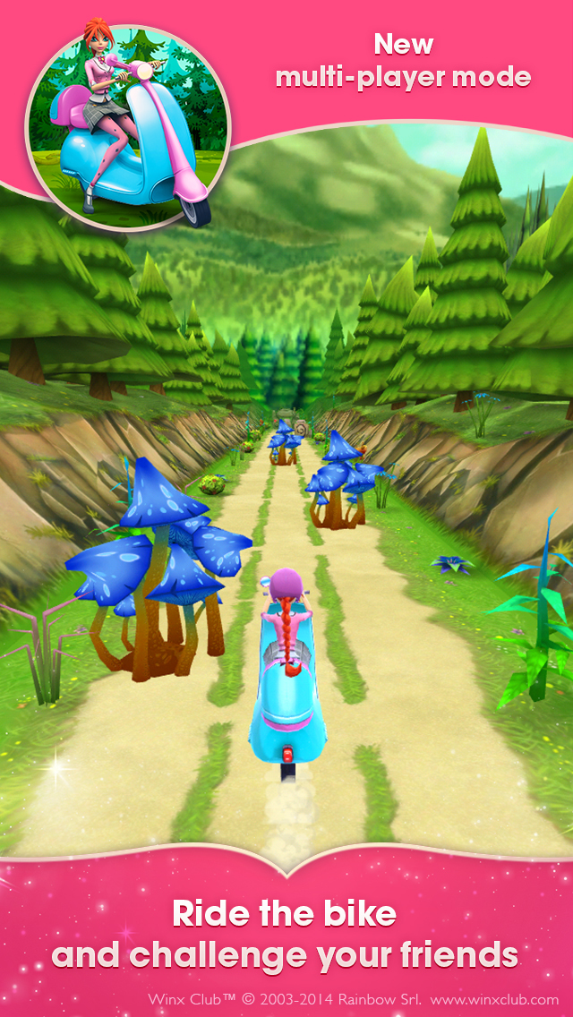 Winx Bloomix Quest: magical 3D runner | iPhone & iPad Game