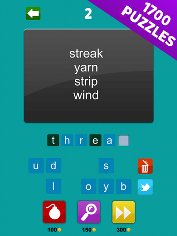 4 Words - Word Association Game screenshot 7
