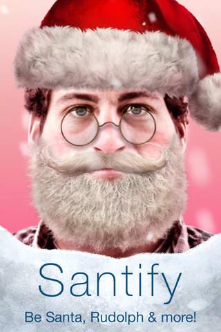Santify - Make yourself into Santa, Rudolph, Scroo - náhled