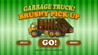 Garbage Truck: Brushy Pick Up screenshot #1
