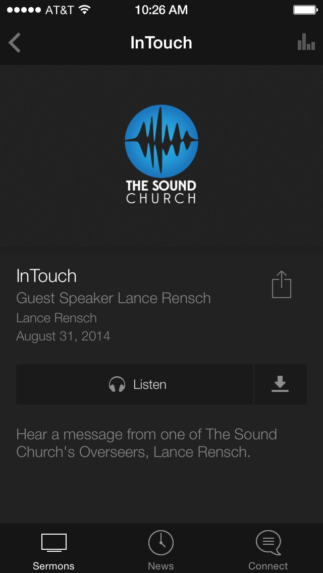 The Sound Church App screenshot 3
