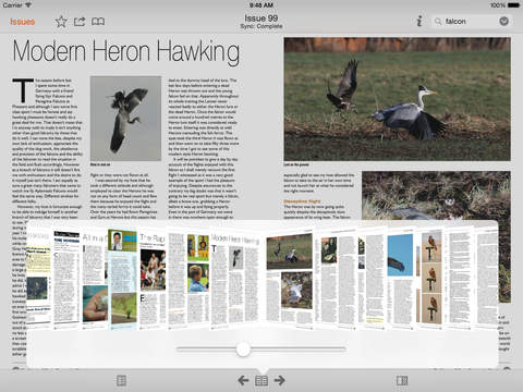 The Falconers & Raptor Conservation Magazine screenshot 10