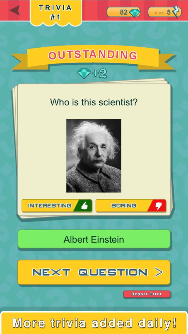 Trivia Quest™ People - trivia questions screenshot 2