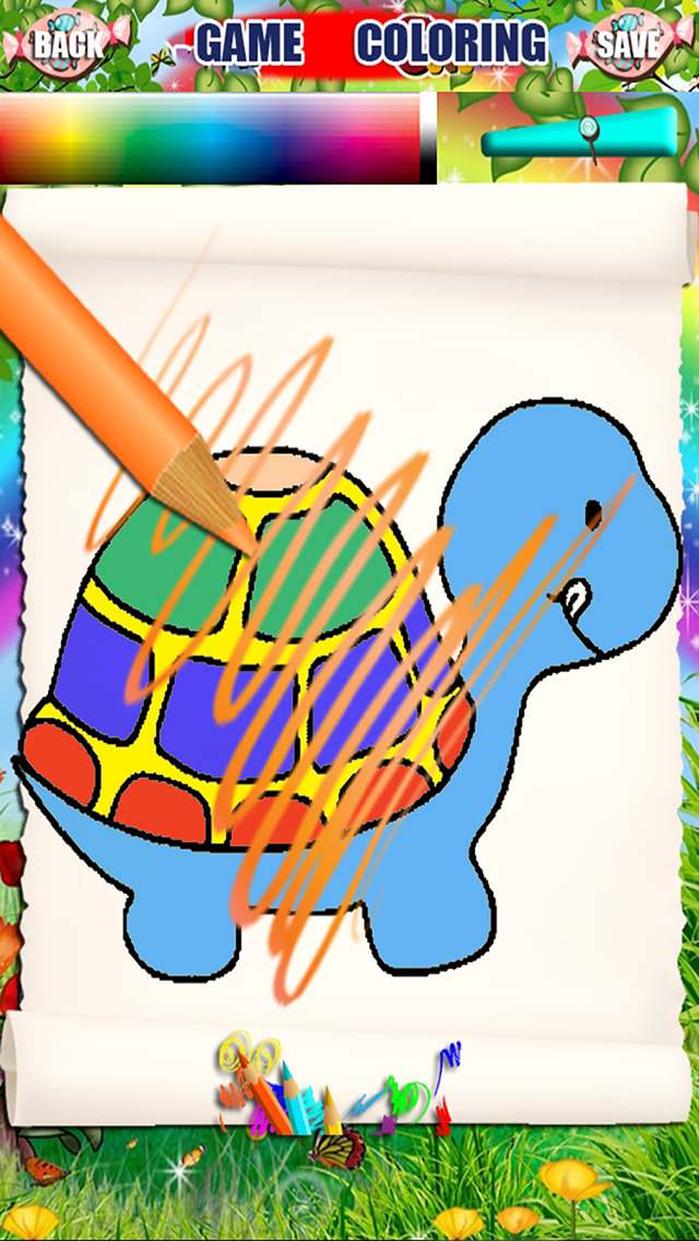 Paint Coloring For Turtle Franklin Version | Apps | 148Apps