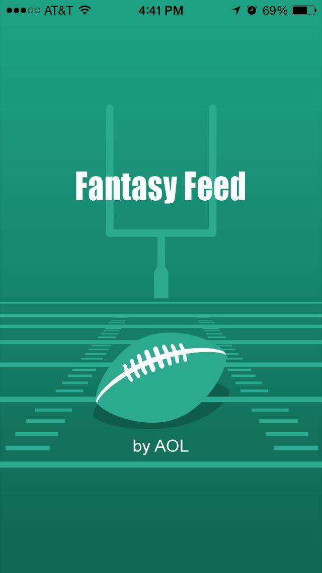 Fantasy Feed – Fantasy Football News and Updates screenshot 1