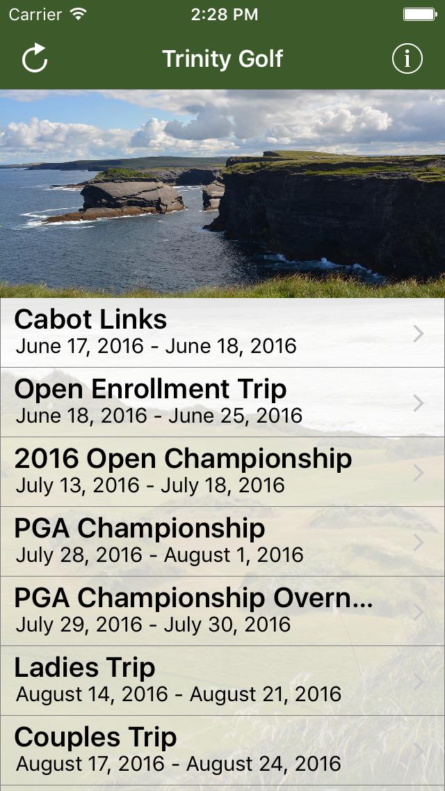 Trinity Golf screenshot 2