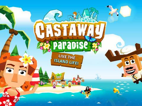 Castaway Paradise Town Builder screenshot 6