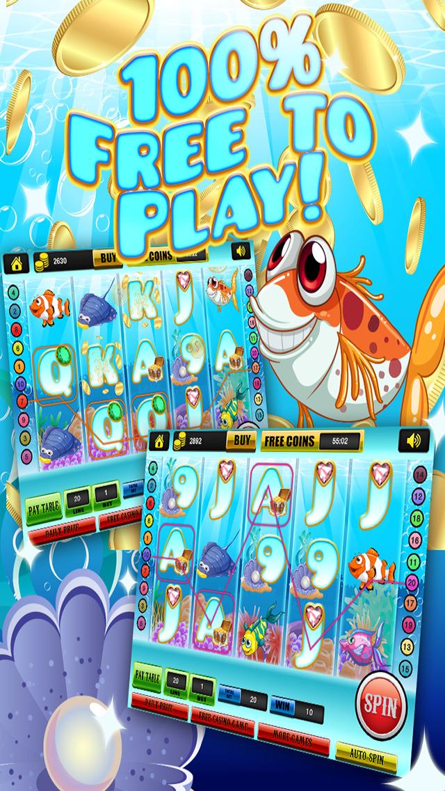 Ace Rich Fish Casino Slots - Lucky Jackpot Prize Wheel Slot Machine Games HD screenshot 4