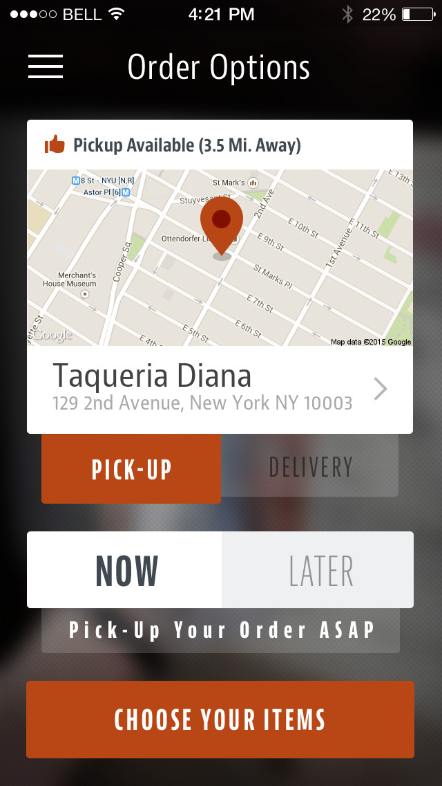 Taqueria Diana screenshot 2
